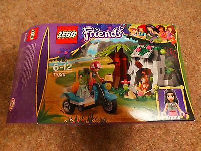 Lego Friends 41032 First Aid Jungle Bike 100 Complete Boxed