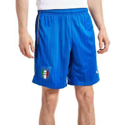 PUMA Italy Away 2016 official FC football shorts blue Mens size XL BNWT