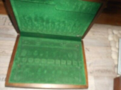 Cutlery Box Canteen Baize Lined Flexfit 12 place settings see other boxes