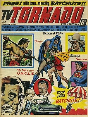 Tv Tornado Comic On Disc Phantom Saint Tarzan Flash Magnus Batman Superman