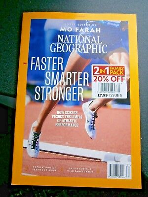 National Geographic Magazine July Issue 2018 (new)