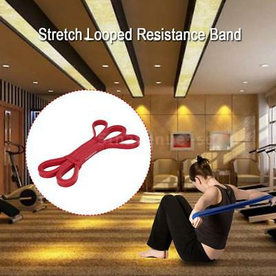 TOMSHOO 208cm Workout Schleifenband Assist Pull Up Band Stretch Resistance V1Z2