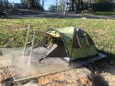Salesman Sample Tent miniature tiny vintage camping display toy scale model rate
