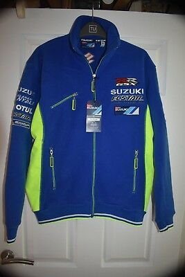 "SUZUKI FULL LENGTH ZIP FLEECE JACKET circa 44"" CHEST --  BRAND NEW WITH TAGS"