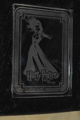 Harry Potter Deathly Hallows Bellatrix Lestrange Glass Case Topper In Box