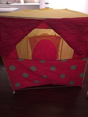 Large (Fold Away) Puppet Theatre And Puppets