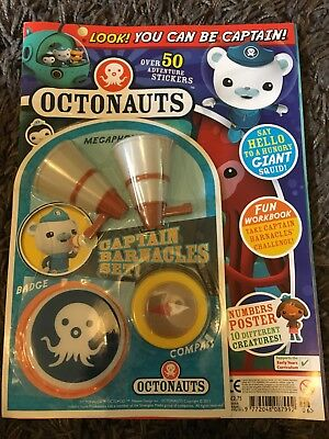 octonauts magazine original issue 6 first edition issue 6.  30 April 2012 new