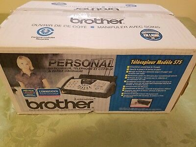 Brother FAX 575 Open Box