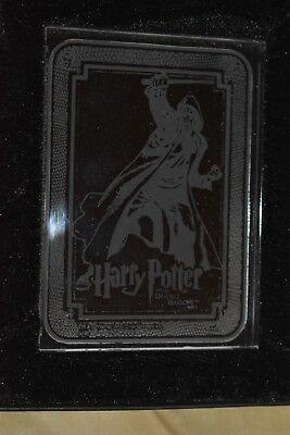 Harry Potter Deathly Hallows Death Eater Glass Case Topper In Box