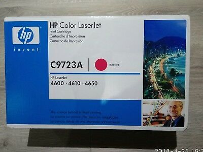 New Genuine HP Color LaserJet C9723A Magenta for 4600,4610 & 4650.Made in Japan