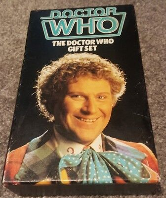 The Doctor Who Gift Set:- contains FOUR Target books.