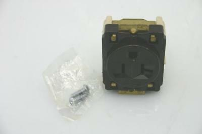 5x HUBBELL HBL5357 STRAIGHT BLADE RECEPTACLE, 20A 125V, NEMA 5-20R