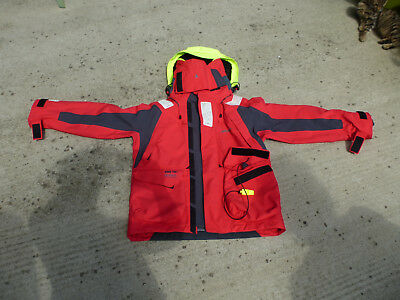 Veste de quart Musto HPX gortex pro ocean technology. Rouge/ Dark Grey taille S