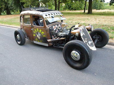 1939 Austin Big Seven  RAT ROD CUSTOM CAR WITH 3.5 ENGINE, THE ONLY ONE LIKE IT IN THE WORLD