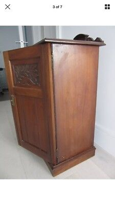 Victorian Pot Cupboard. Solid Wood. Mahogany. Delivery possible. Bedside cabinet