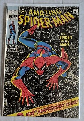Marvel The Amazing Spiderman #100 (F+)