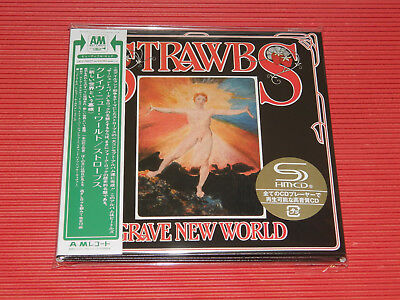 2018 STRAWBS Grave New World WITH BONUS TRACKS  JAPAN MINI LP SHM CD
