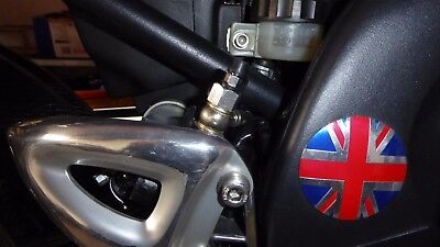 Triumph Daytona/Speed Triple 955i Alloy Rear Master Cylinder Bleed valve Upgrade