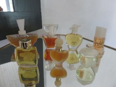 lot de 7 miniatures de parfum