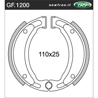 Front Brake Shoes Fit YAMAHA YFM200DX MOTO-4 1985 1986 1987 1988 1989 1990