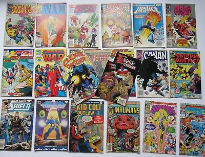 Marvel Comics Mixed Lot of 21 Different Books Mosty Copper Age 1976 - 1992
