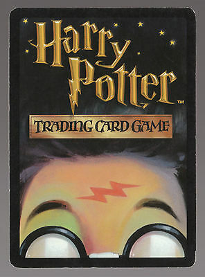 Harry Potter Trading Game Card - Creature Bird - Curious Raven 80/116 - 2001