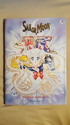 Sailor Moon Original Artbook 1 Anime Naoko Takeuchi (Deutsch, Hardcover) wie neu