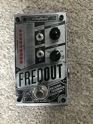 Digitech FreqOut Effects Pedal