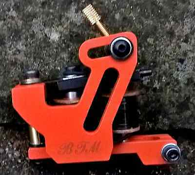 Border Tattoo Machine,shader Custom Micro Frame Black 10 Layer 25Mm T-Top Coils