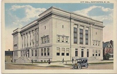 Huntington Wv West Virginia Cabell County Postcard