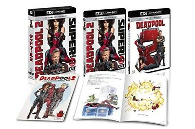 Deadpool 2 4K ULTRA HD Blu-ray Booklet First Limited Edition Japan FXHA-83292