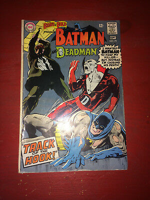The Brave and the Bold Batman and Deadman No.79 Sept. 1968 Comic