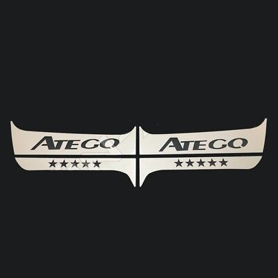 To Fit Mercedes Atego Door PILLAR Super Polished Stainless Steel 4 Pcs