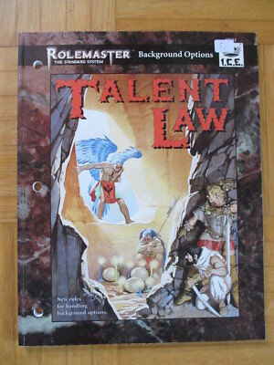 Rolemaster Talent Law #5523 I.C.E. roleplay sourcebook companion rollenspiel rpg