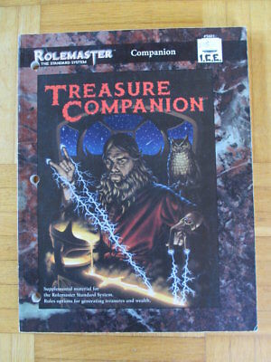 Rolemaster Treasure Companion #5601 I.C.E. roleplaying sourcebook rollenspiel rp