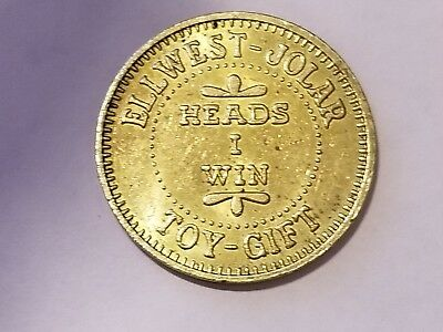 ELLWEST - JOLAR - Lucky Token, Heads I Win Tails I lose, San Diego, CA