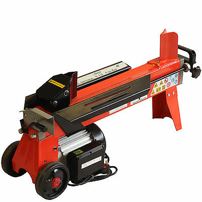 EX DEMO 5ton HEAVY DUTY HYDRAULIC LOG SPLITTER ELECTRIC WOOD TIMBER CUTTER FM10