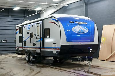 NEW MT MCKINLEY 268RB LIGHT WEIGHT FAMILY BUNKHOUSE TRAVEL TRAILER w/SLIDE OUT