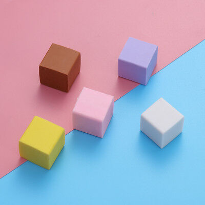 5pcs Cute Erasers Kids Students Stationery Gift Accessories w/ Milk Scented