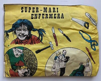 Sobre Sorpresa Super-Mari Made In Spain Años 1975