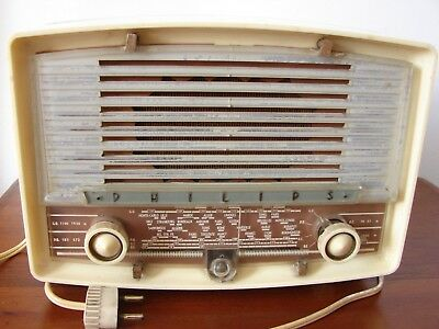 Poste Radio Tsf A Lampes Philips