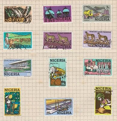 Stamps - Nigeria - 1973 - used