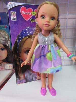 """Hearts for Hearts / Hearts 4 Hearts Doll named """"Lauryce""""  New Doll in Box"""
