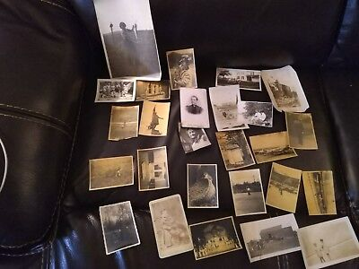 Large mixed lot of 131 vintage and antique photos