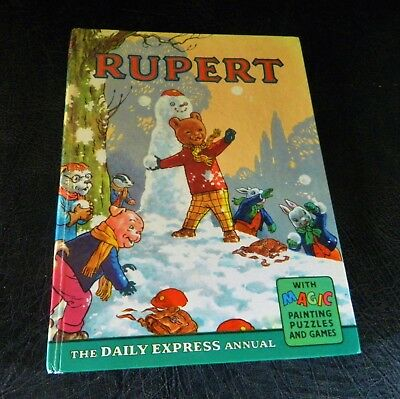Scarce Rupert Annual 1962 Very Good Condition