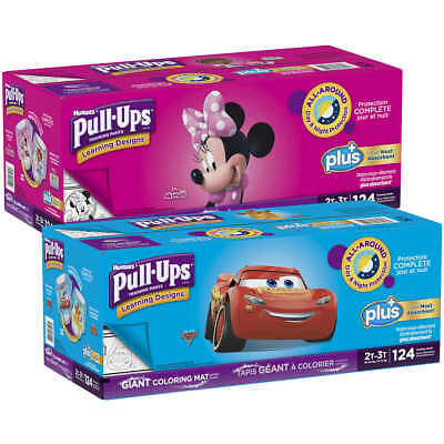 Huggies Pull-Ups Plus Training Pants for Boys or Girls 2T-3T, 3T-4T or 4T-5T