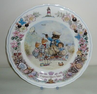 "Wedgwood Foxwood at Sea ""Captain Otter's Tales""  8½"" Plate"