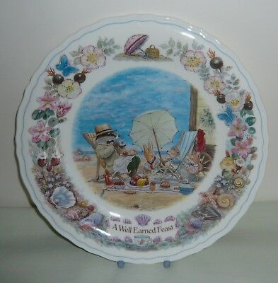 "Wedgwood Foxwood at Sea ""A Well Earned Feast""  8½"" Plate"