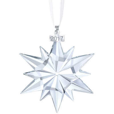 Swarovski Crystal Ornament 2017 Annual Edition Christmas Ornament Star #5257589