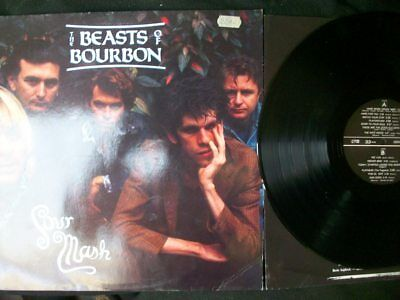 """The Beasts Of Bourbon """"Sour Mash"""" LP 1988 DE-Press, Red Eye Record (RED LP 5)"""